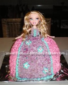 Homemade Bratz Cake