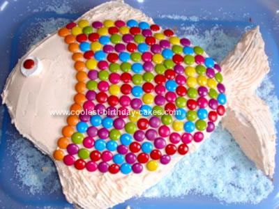 Homemade Bright Fish Cake