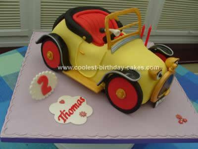 Homemade Brum Birthday Cake