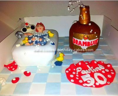Homemade Bubble Bath Cake