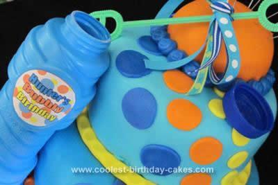 Homemade Bubbles Cake