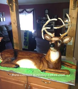 Homemade Buck Cake