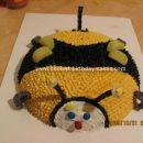 Homemade Bumble Bee Cake