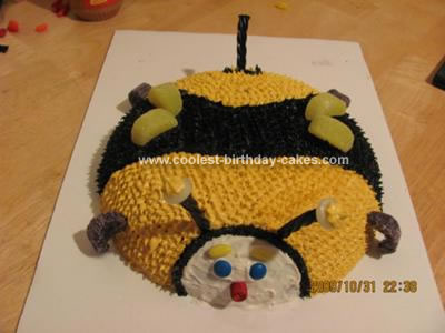 Coolest Homemade Bumble Bee Cakes