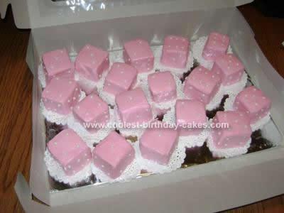 Homemade Bunco Dice Birthday Cake