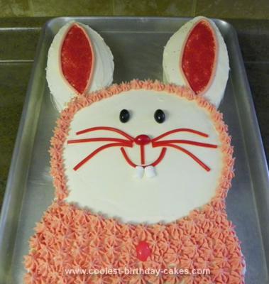 Homemade Bunny Cake Ever