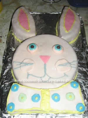 Homemade Bunny Cake Idea