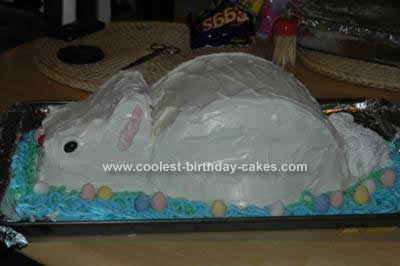 Homemade Bunny Cake Idea