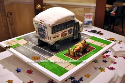 Homemade Bus Cake
