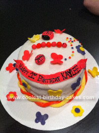 Terrific Coolest Butterfly First Birthday Cake Personalised Birthday Cards Petedlily Jamesorg