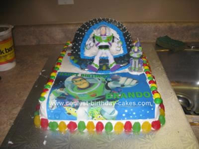 Miraculous Coolest Homemade Buzz Lightyear Cakes Funny Birthday Cards Online Inifofree Goldxyz