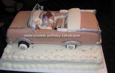 Homemade Cadillac Cake