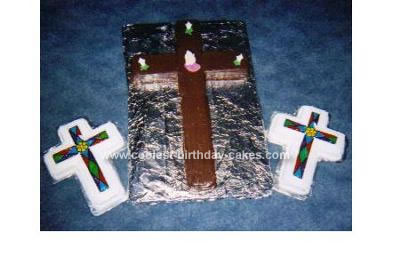 Homemade Calvary Cross Cake