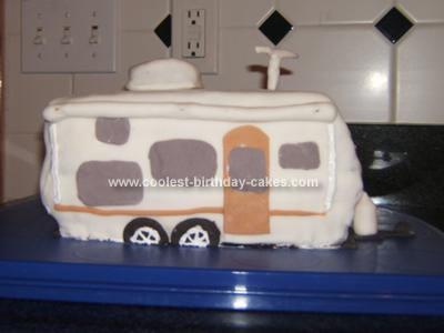 Homemade Camper Cake