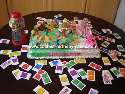 Candlyland Cake