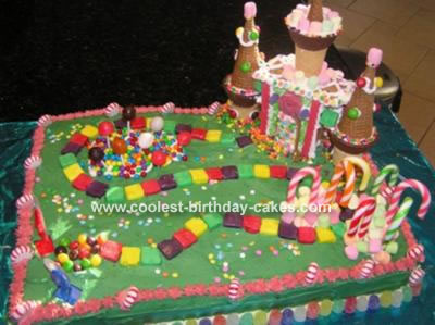 Cool Homemade Candyland Cake For A Sweet Sixteen