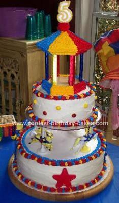 Ciana's Carousel Cake