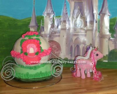 Homemade Carriage Cake