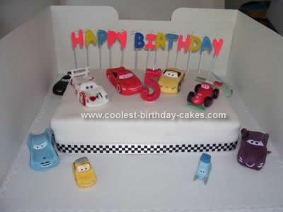 Homemade Cars 2 Cake