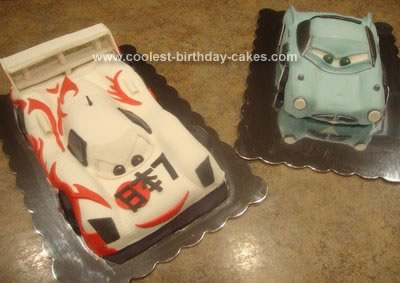 Homemade  Cars 2 Cakes