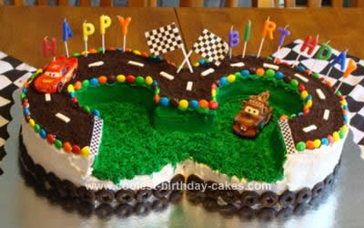 Outstanding Cool Homemade Cars 3Rd Birthday Cake Personalised Birthday Cards Paralily Jamesorg