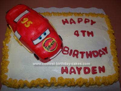 Strange Cool And Easy Homemade Cars Birthday Cake Birthday Cards Printable Inklcafe Filternl