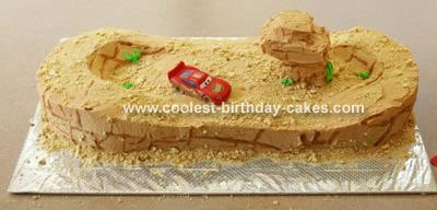 Willy's Butte Dirt Track Cake