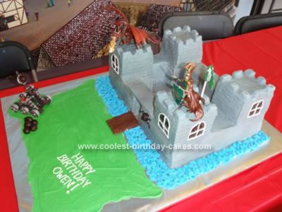 Fine Coolest Castle Birthday Cake Funny Birthday Cards Online Eattedamsfinfo