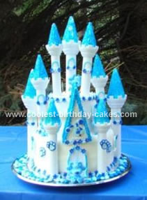 Coolest Castle Cake