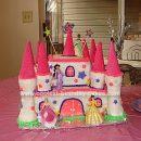 Homemade Castle Cake Design