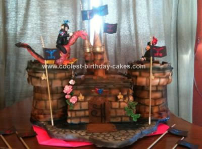 Fine Coolest Castle Knight Birthday Cake Funny Birthday Cards Online Eattedamsfinfo