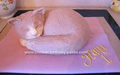 Awe Inspiring Coolest Cat Birthday Cake Funny Birthday Cards Online Fluifree Goldxyz