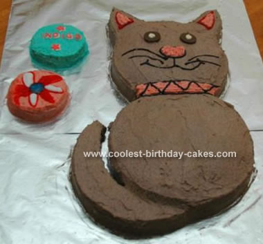 I Offered To Make A Gluten Free Cat Cake For My Nieces 2nd Birthday Actually Got The Idea From Few Different Cakes This Site