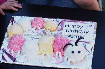 Coolest Caterpillar Cake