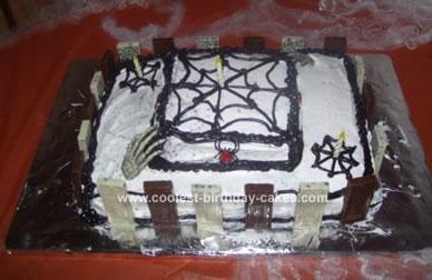 Homemade Cemetary Cake