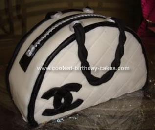 Coolest Chanel Purse Birthday Cake
