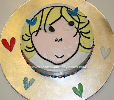 Homemade Charlie and Lola Cake