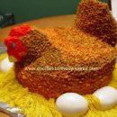 Homemade Chicken Cake