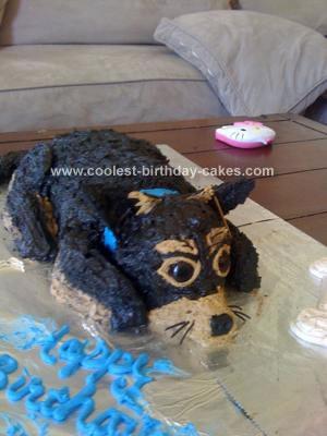 Homemade Chihuaha Cake