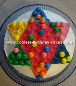 Chinese Checkers Cake