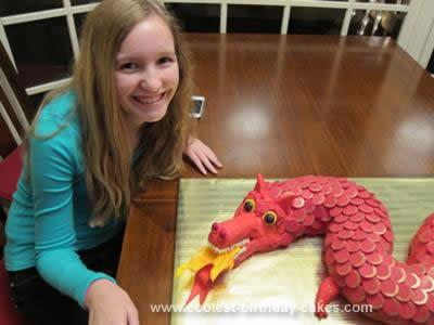 Homemade Chinese Dragon Cake