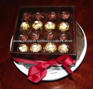 Homemade Chocolate Box Cake