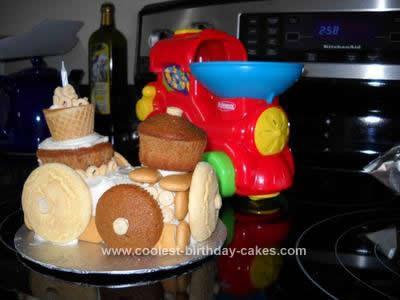 Homemade Choo Choo Cake
