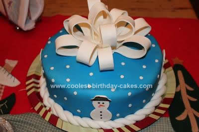 Incredible Coolest Christmas Cake Personalised Birthday Cards Veneteletsinfo