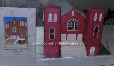 Homemade Church Cake