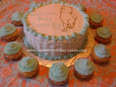 Homemade Classic Pooh Cake