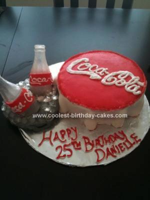 Coolest Coca Cola Birthday Cake
