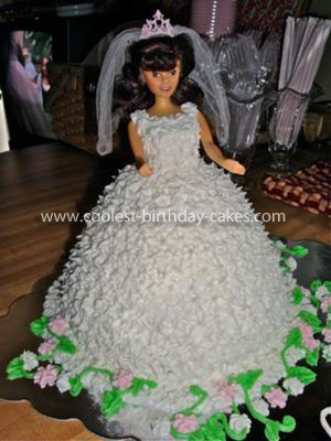 Communion Doll Cake