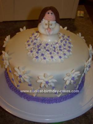 Homemade Confirmation Cake