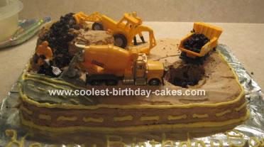 Daniel's Construction Site Cake